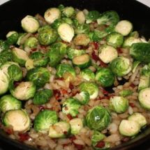Brussels Sprouts with Sun-Dried Tomatoes