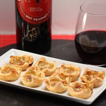 Mat Kearney & Wine, Ham and Gorgonzola Tartlets & a GIVEAWAY!