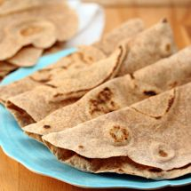 Easy Handmade Whole Wheat Tortillas & a Cinco de Mayo Linkup Party!