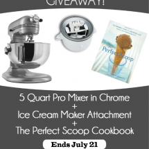 Ultimate Summer KitchenAid GIVEAWAY!