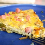 Ham and Gorgonzola Frittata