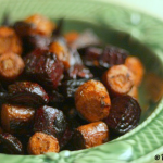 Roasted Balsamic Beets & Carrots