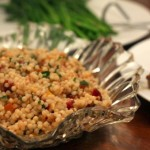 Couscous with Butternut Squash and Cranberries