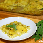 Potato Leek Gratin