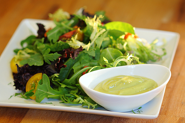 Creamy Miso Avocado Dressing
