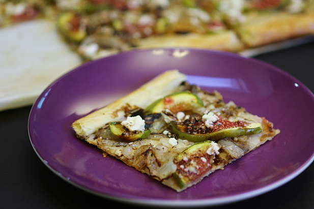 Fig & Caramelized Onion Tart