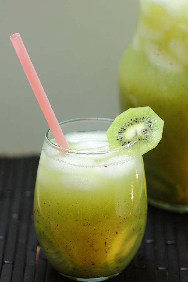 Kiwi Cucumber Agua Fresca