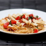 Friday Favorites: Bruschetta Chicken Pasta