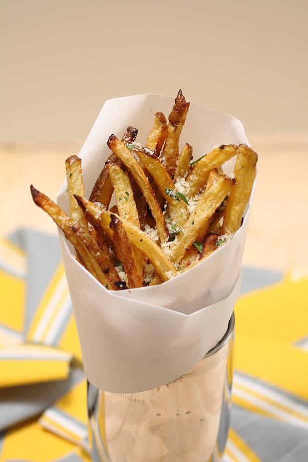 Garlic Parmesan Frites