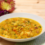 Saffron Potato Soup with Shrimp & a GIVEAWAY!!!