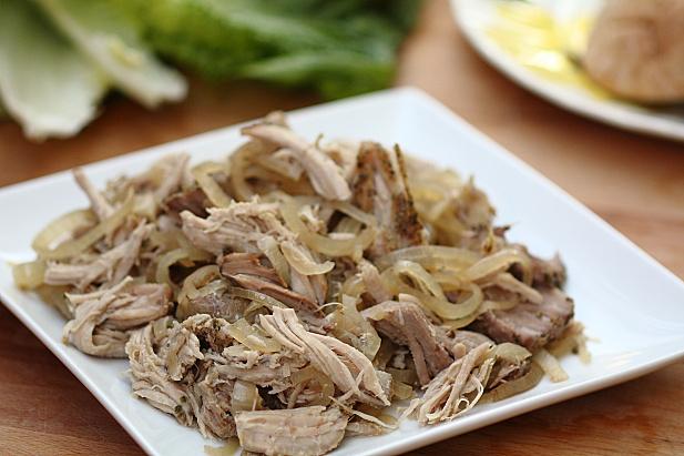 Slow Cooker Onion Pork