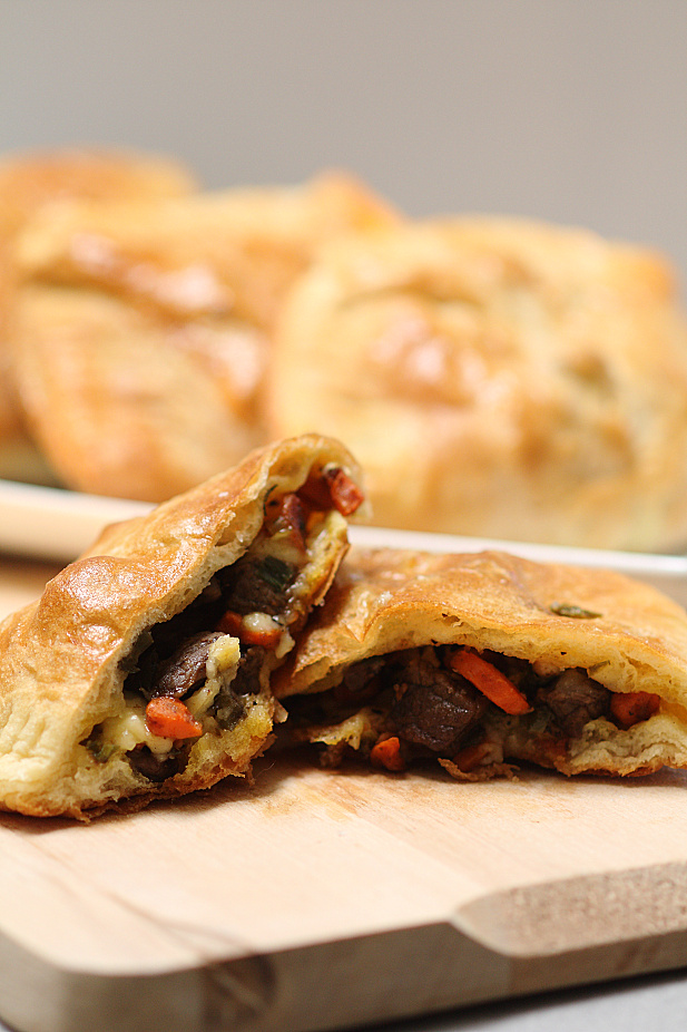 Steak & Cheddar Hand Pies