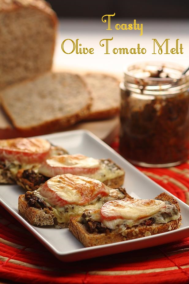 Toasty Olive Tomato Melts
