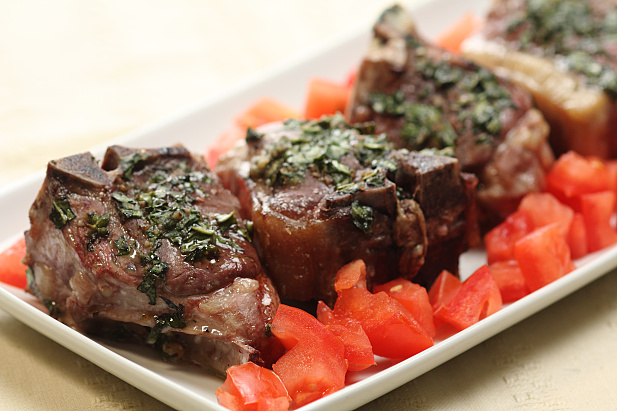 how to cook lamb chops in the oven well done
