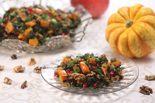 Autumn Squash & Kale Salad