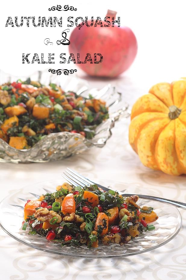 Autumn Squash & Kale Salad