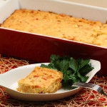 Cajun Shrimp and Corn Casserole