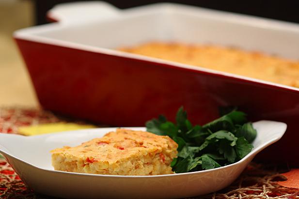Cajun Shrimp & Corn Casserole