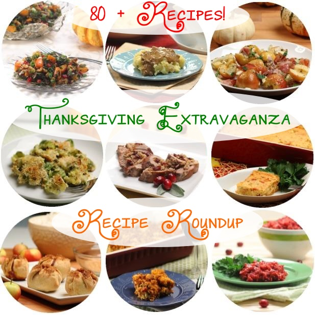 Thanksgiving Extravaganza Recipe Roundup