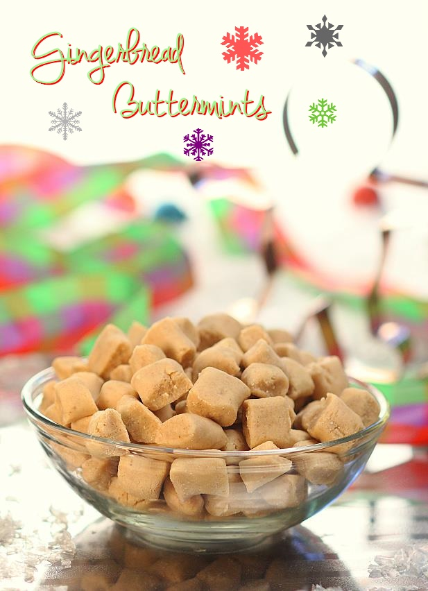 Gingerbread Buttermints