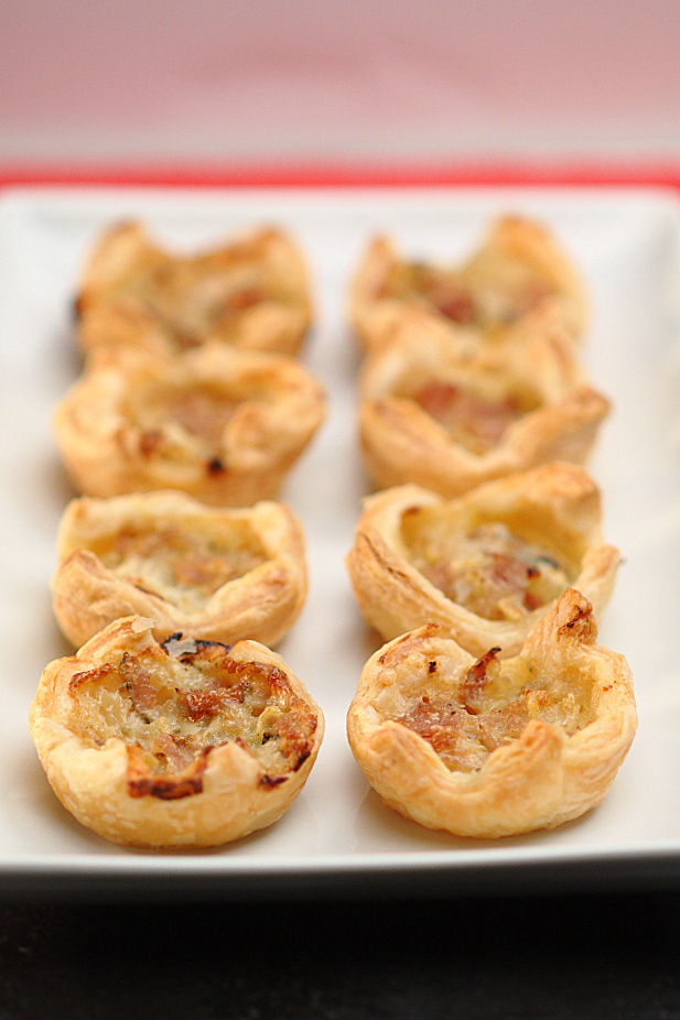 Ham & Gorgonzola Tartlets