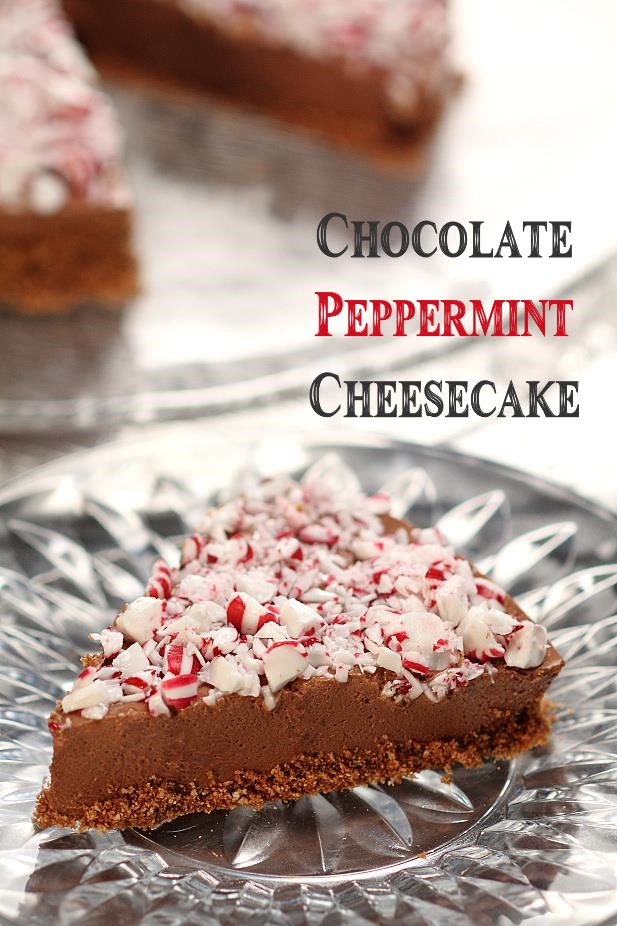 Chocolate Peppermint Cheesecake