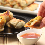 Mango & Avocado Egg Rolls