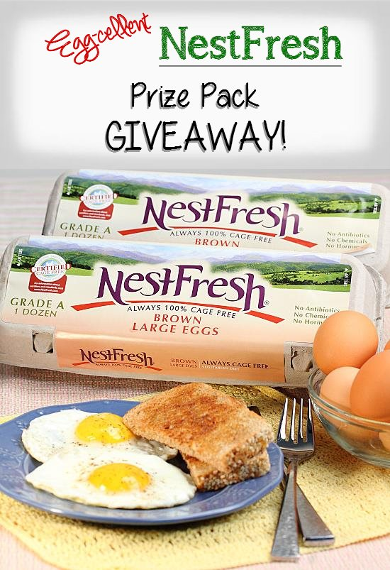 Egg-cellent Prize Pack GIVEAWAY from NestFresh