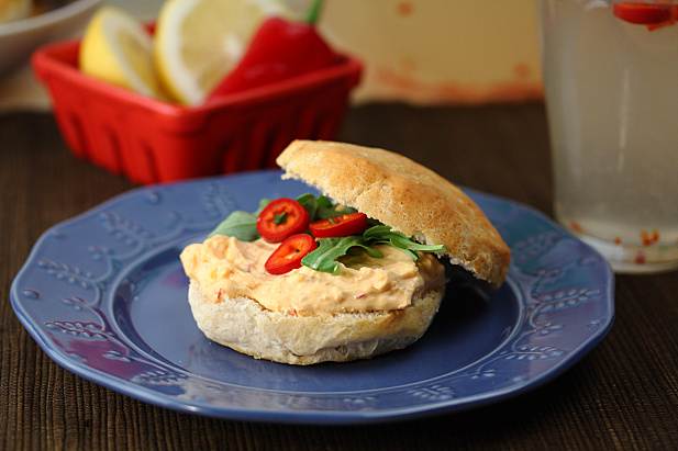Melissa's Pimento Cheese Biscuit Sandwiches