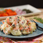 Smoked Salmon & Dill Potato Salad
