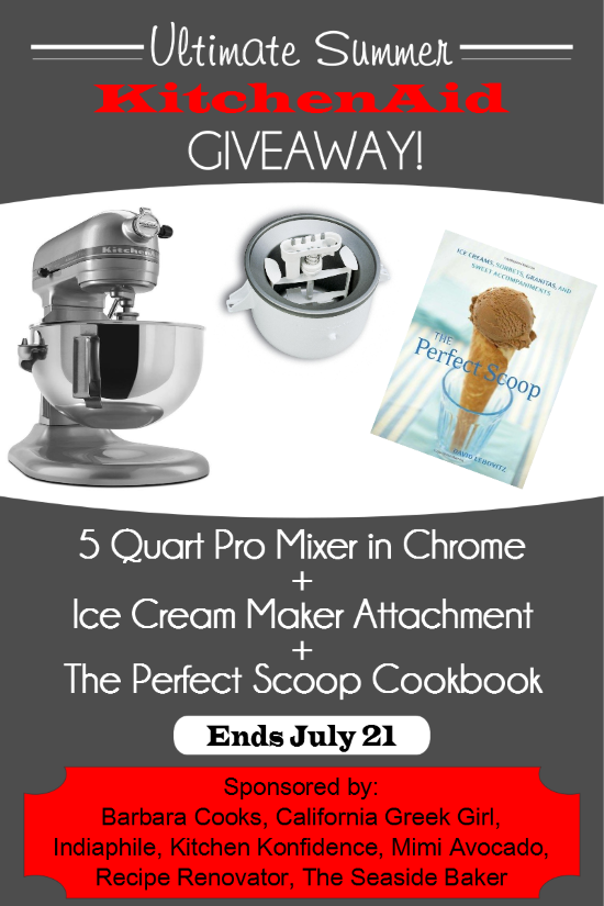 Ultimate Summer Kitchenaid Giveaway