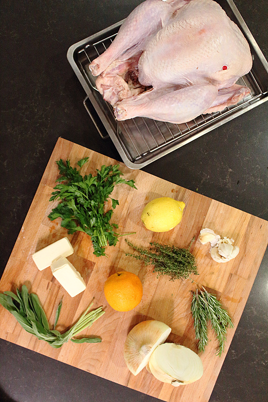 Thanksgiving Turkey with Herb Butter
