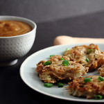 Allergen-free Potato Latkes with Pear Mandarin Sauce