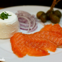 Orange Cured Salmon