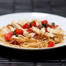 Friday Favorites: Bruschetta Chicken Pasta