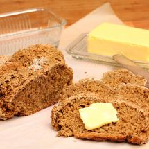 Quick Rye Irish Soda Bread
