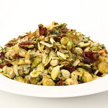 Roasted Green Salad with Chanterelles