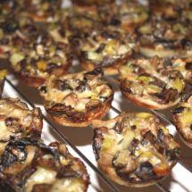 Wild Mushroom Tartlets