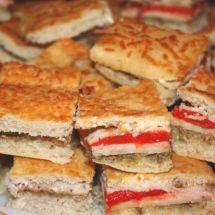 Mini Foccacia Sandwiches